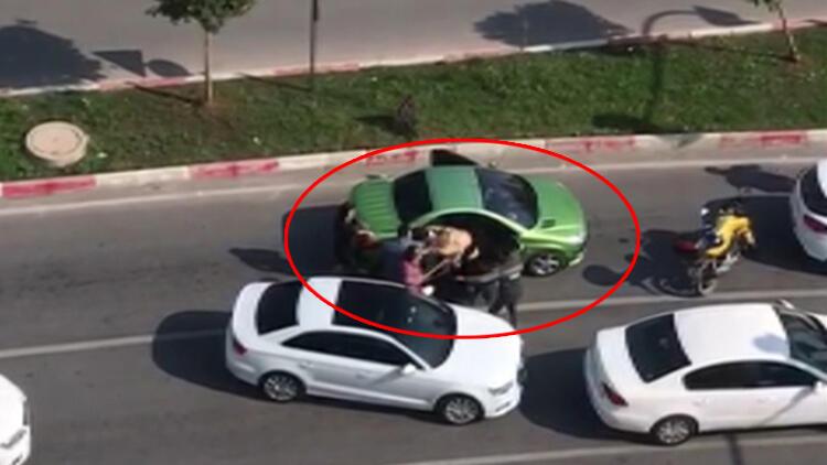 Trafikte 3 kadına sopayla saldırmıştı! Cezası belli oldu...