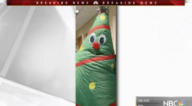 Dehşet verici olay: Şişme Noel kıyafeti 43 kişiye corona bulaştırdı