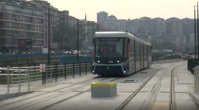 Haliç Tramvayı seferlerine başladı