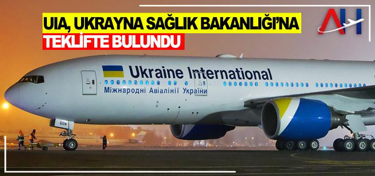 Ukrayna Havayolları, Ukrayna Sağlık Bakanlığı'na teklifte bulundu