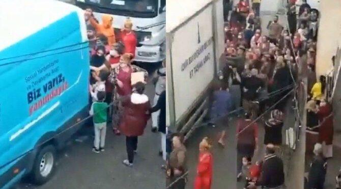 Yardım izdihamı! İzmir Büyükşehir Belediyesi özür diledi