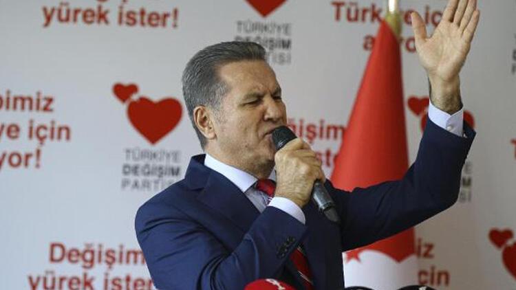TDP Genel Başkanı Mustafa Sarıgül'den 'ittifak' açıklaması