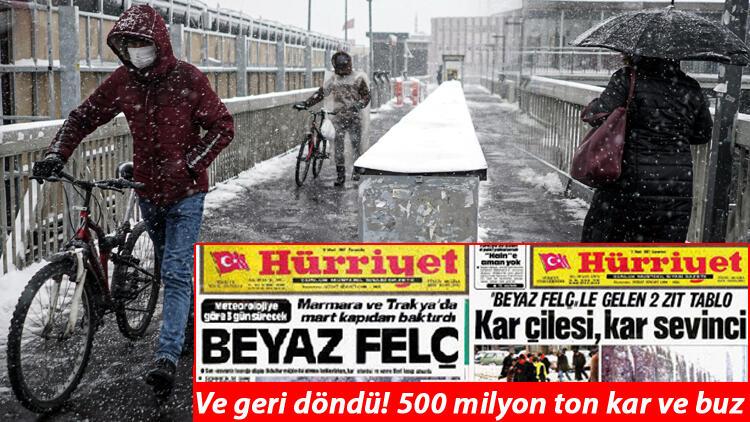 Meteoroloji'den son dakika yoğun kar yağışı uyarısı! İşte İstanbul'da son durum…