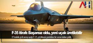 F-35 itirafı: Başarısız oldu, yeni uçak üretilebilir