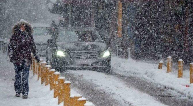 Meteoroloji'den kar uyarıları geldi! Yeni sistem yaklaşıyor…