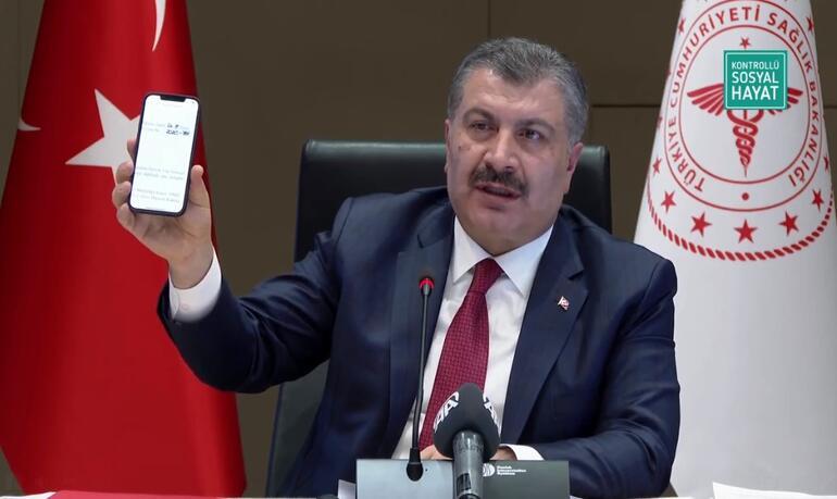 Son dakika haber: CHPnin bedava aşı iddiası... Sağlık Bakanı Fahrettin Koca belgelerle tane tane anlattı