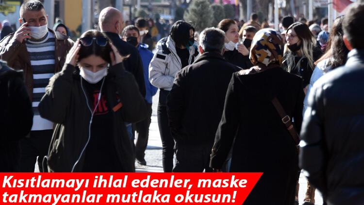 Kısıtlamayı ihlal edenler, maske takmayanlar mutlaka okusun! 5 yaşındaki çocukta dahi görüldü