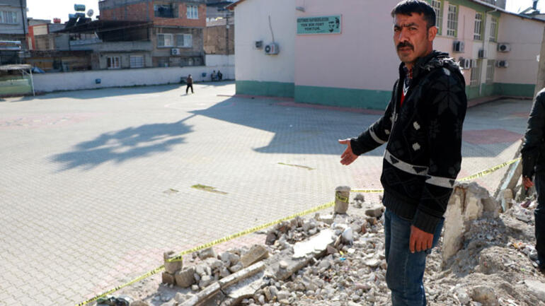 Adanada okulların açıldığı ilk gün feci olay Dünya benim üstüme çöktü