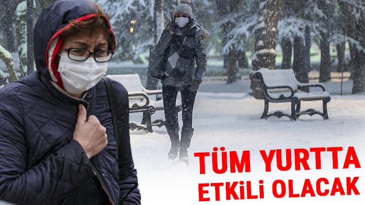 Prof. Dr. Orhan Şen duyurdu! Yağışlar tüm yurtta etkili olacak: Sağanak ve kar...