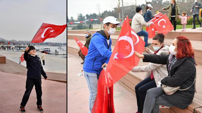 Tuzla'da İstiklal Marşı'nın kabulünün 100üncü yılı kutlandı