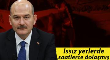 İçişleri Bakanı Soylu duyurmuştu Detayları belli oldu: Saatlerce taksiyle dolaştı