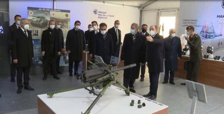 Şehit üsteğmen tasarlamıştı Milli Savunma Bakanı Hulusi Akar inceledi