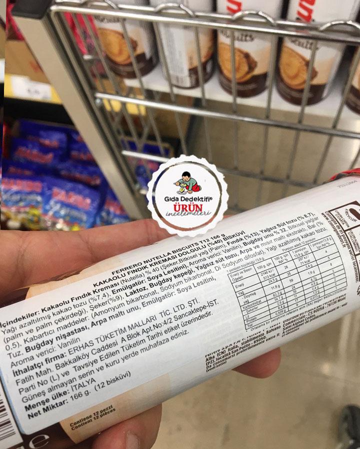 Nutella Biscuits - Gıda Dedektifi