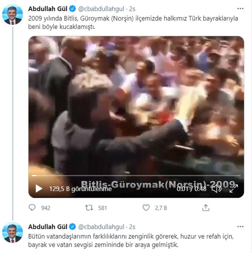 Devlet Bahçeli'nin sert açıklamasına Abdullah Gül'den videolu yanıt