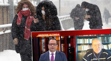 İstanbul'a kar yağacak mı Prof. Dr. Orhan Şen canlı yayında açıkladı