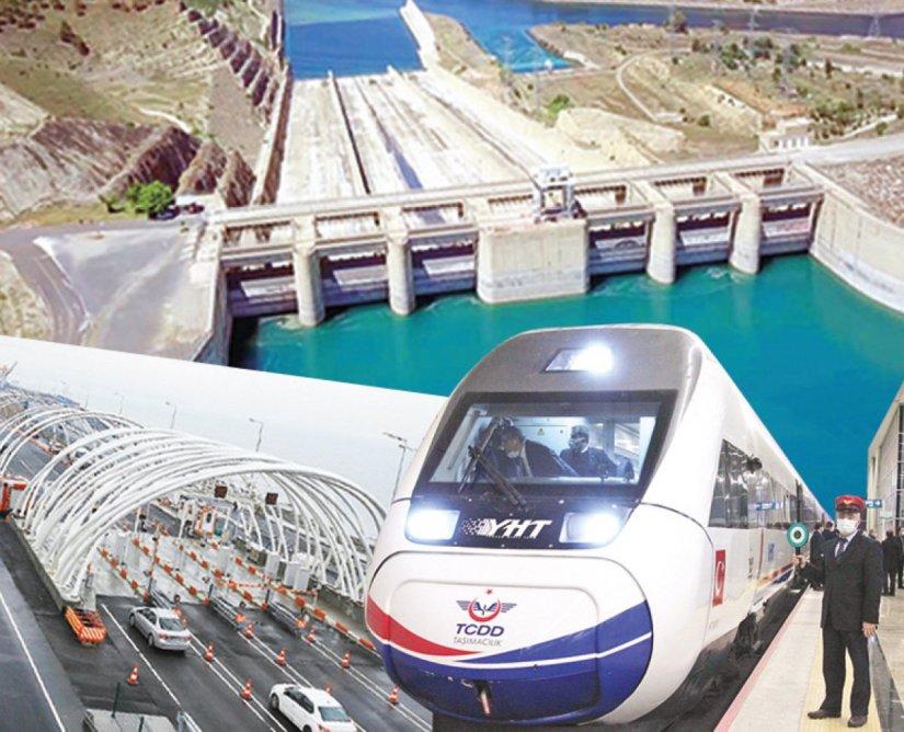 Ağbal'ın faturası 7 tünel, 2 baraj oldu