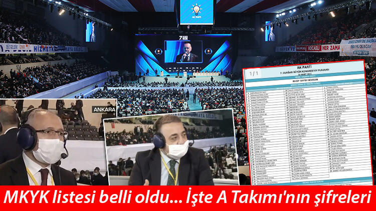 Son dakika... AK Parti MKYK listesi belli oldu! İşte AK Parti'nin yeni genel başkan vekilleri