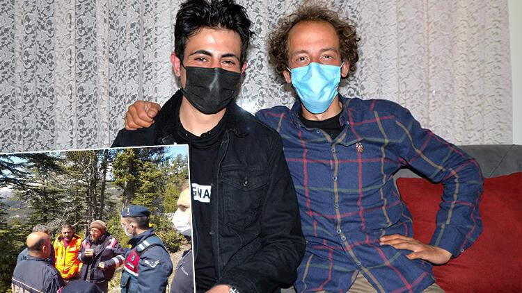 3 gün sonra bulunan Ege Kabalak, geceyi arkadaşının evinde geçirdi