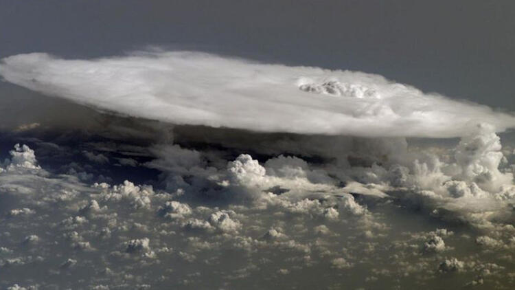 Süper soğuk fırtınada sıcaklık rekoru kırıldı
