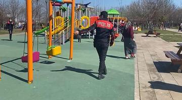 Kısıtlama günü geldiği parkta polisten kaçarken çocuğunu kaybetti