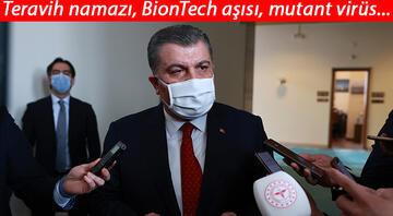 Sağlık Bakanı Kocadan mutasyonlu koronavirüs açıklaması: Oran yüzde 75lere ulaştı