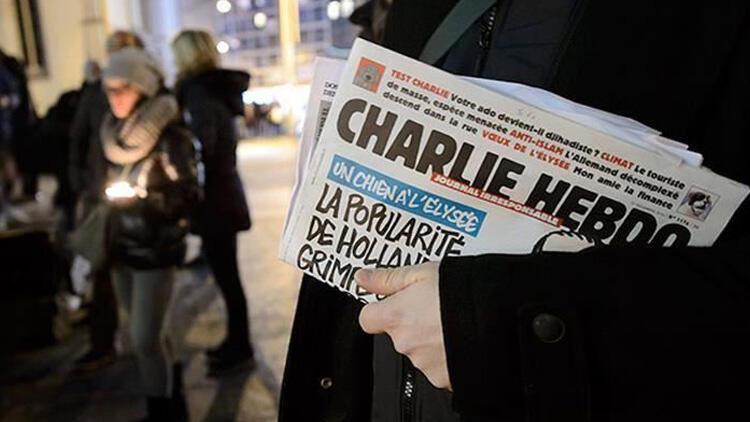 Charlie Hebdo hakkında 'cumhurbaşkanına hakaret' davası