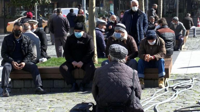 Çok yüksek riskli grubundaki iller arasında Trabzon'da korkutan görüntüler...