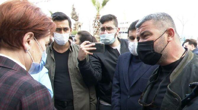 Esnaf, Meral Akşener'e dert yandı: Böyle devam ederse dayanamayız