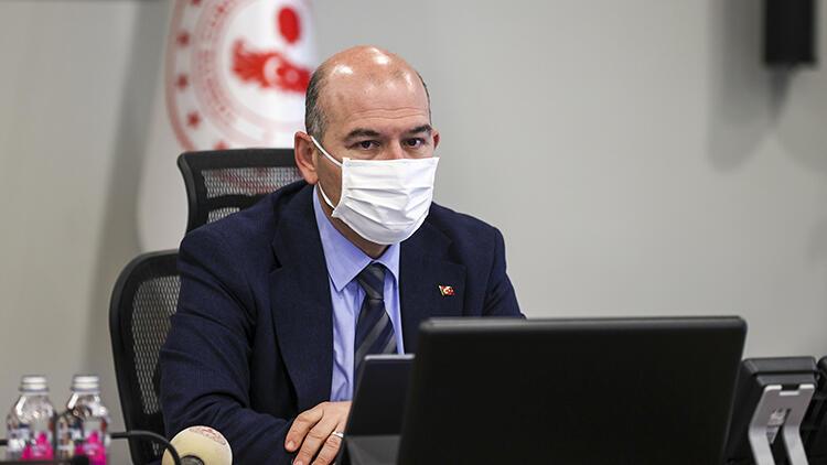 İçişleri Bakanı Soylu, valilerle koronavirüs tedbirlerini değerlendirdi: Haritanın her yerini mavi yapma yükümlülüğümüz var