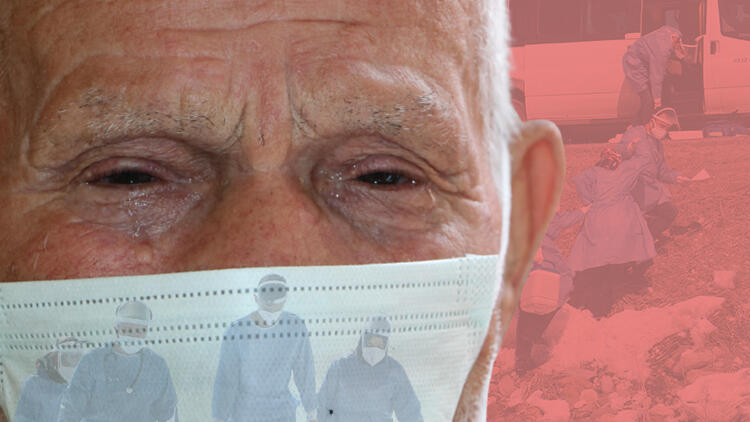 Koronavirüs aşı ekibini gören Sıddık dede gözyaşlarını tutamadı