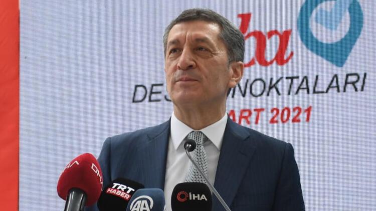 Milli Eğitim Bakanı Ziya Selçuk: EBA destek merkezleri geçici değil, kalıcı merkezler