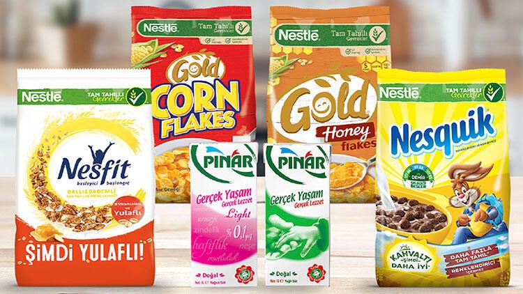 Nestlé Kahvaltılık Gevrekler ve Pınar Süt güne besleyici ve nefis bir başlangıç yapmanıza yardımcı oluyor