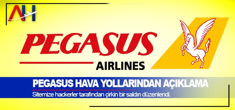 Pegasus Hava Yollarından Açıklama. Sitemize hackerler tarafından çirkin bir saldırı düzenlendi.