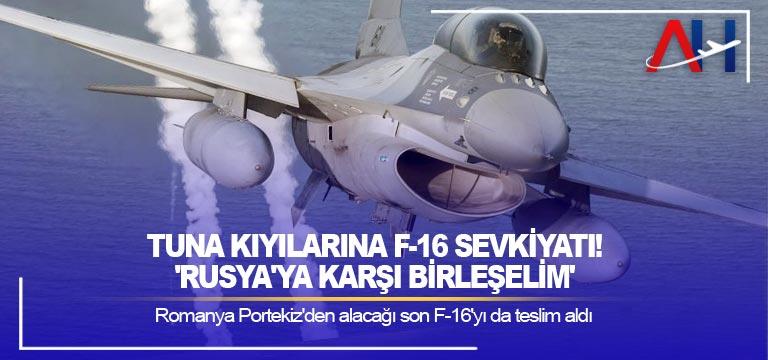 Romanya Portekiz'den alacağı son F-16'yı da teslim aldı