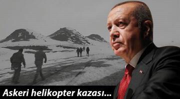 Son dakika: Bitlisteki askeri helikopter kazası... Cumhurbaşkanı Erdoğan, Bakan Akardan bilgi aldı