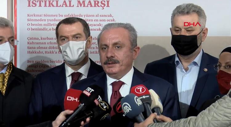 TBMM Başkanı Şentop'tan AP'ye: Türkiye aleyhine konuşurken utanmaları gerekir