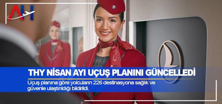 THY Nisan Ayı Uçuş Planını Güncelledi