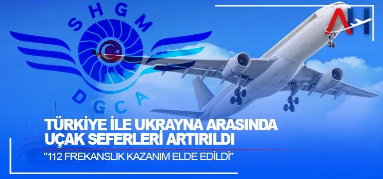 Türkiye ile Ukrayna arasında uçak seferleri artırıldı