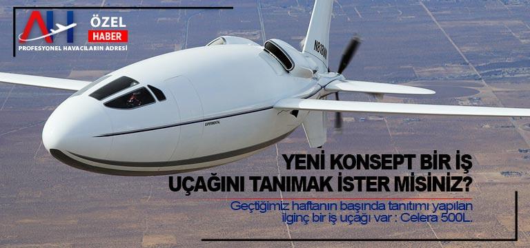 Yeni konsept bir iş uçağını tanımak ister misiniz?