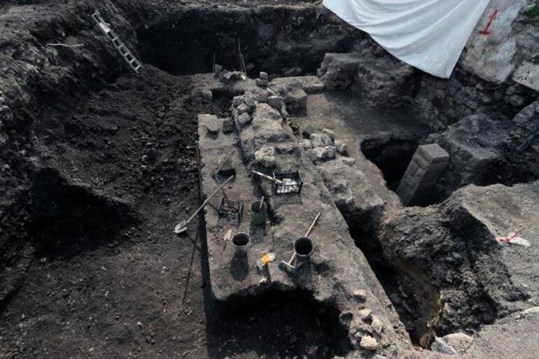 Trabzonda kazı çalışmaları sırasında bulundu Müzeye dönüştürülecek