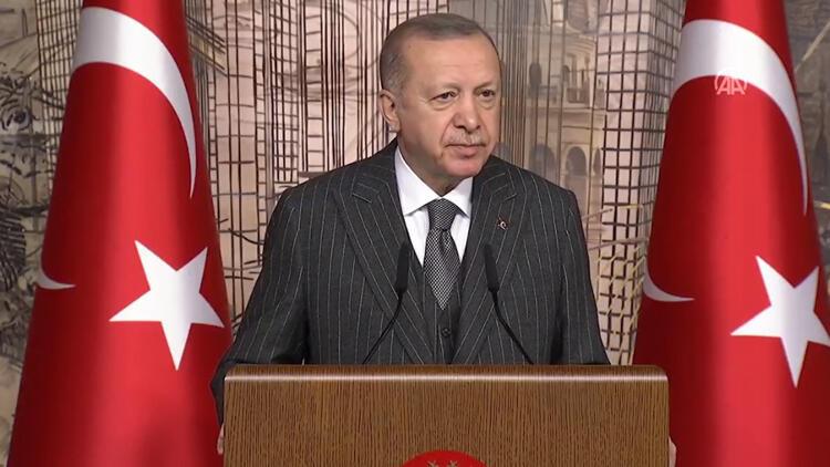 Cumhurbaşkanı Erdoğan'dan koronavirüs salgını açıklaması