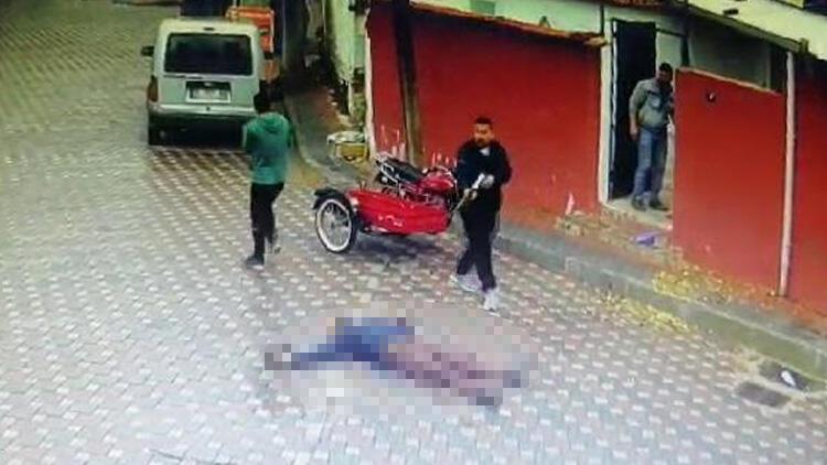İzmir'de sokak ortasında pompalı tüfek dehşeti! Saniye saniye kamerada
