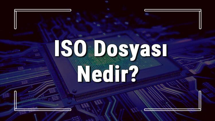 ISO dosyası (Disk yansıması dosyası) nedir ve nasıl açılır? .iso dosyası açma işlemi ve program önerisi