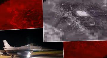 MSBden Kuzey Irak açıklaması: Terör hedefleri yerle bir edildi