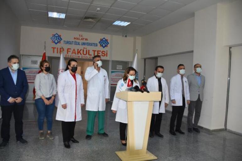 Son dakika haberi... Malatyada hastanede doktora çirkin saldırı Annesi koronavirüsten hayatını kaybedince...