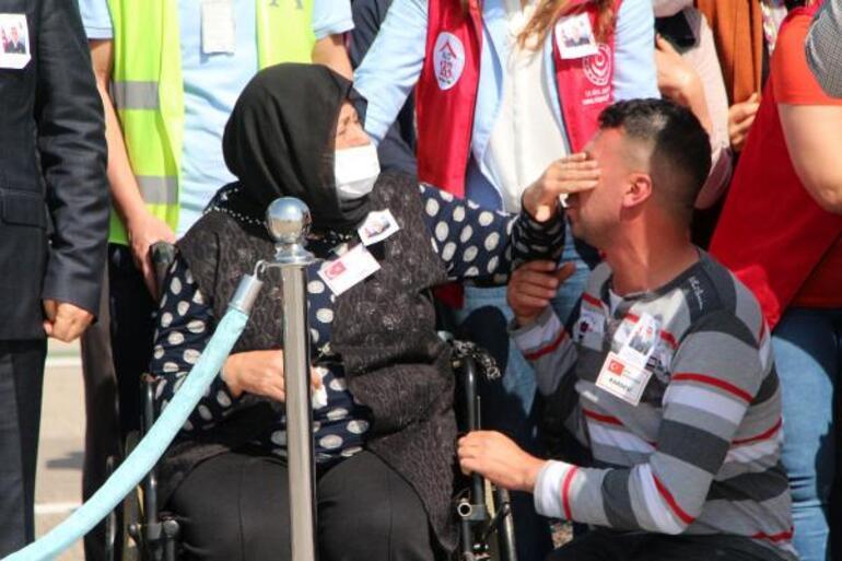 Şehit Uzman Çavuş Mehmet Kırmızının naaşı Adanaya ulaştı Yürek dağlayan sözler