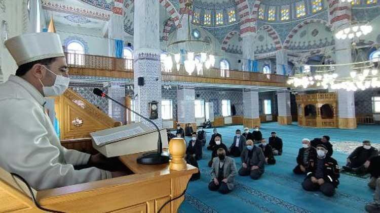 AFAD'dan eğitim alan imamdan cemaate 'afet' vaazı