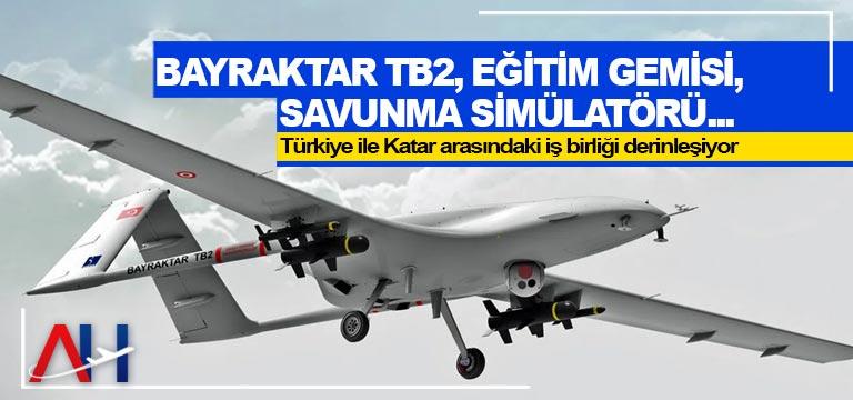 Bayraktar TB2, eğitim gemisi, savunma simülatörü…