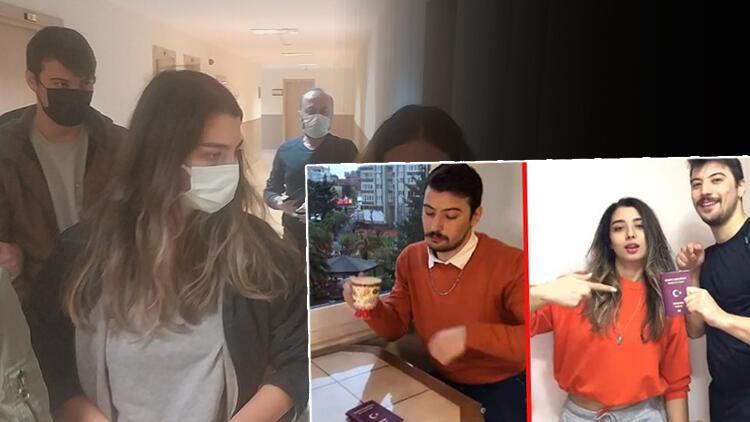 Görüntüler büyük tepki çekti! Türk pasaportuna saygısızlık...