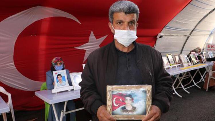 HDP önünde eylem yapan baba: Evladımızı almadan gitmeyeceğiz